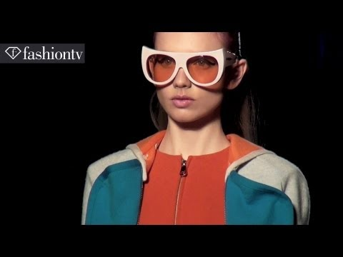 Tsumori Chisato Fall 2012: Eye-Popping Swiss Ski Style at Paris Fashion Week PFW | FashionTV