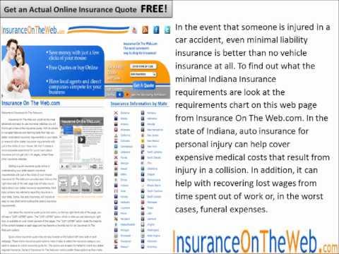 Indiana Auto Insurance