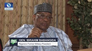 IBB Chats On Insurgency,Buhari,2019 Election & MKO Abiola Pt.1 |Roadmap 2019|
