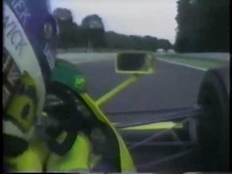 Onboard camera from Derek Warwick&#039;s Lotus Lamborghini V12 as Ayrton Senna comes to lap him. Listen for the Honda V10 through the screaming Lambo V12 as he do...