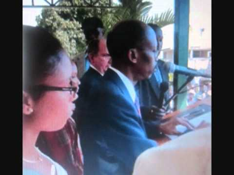Aristide & Family Arrive in Haiti - His Speech: March 18, 2011 (Part 2 of 2)