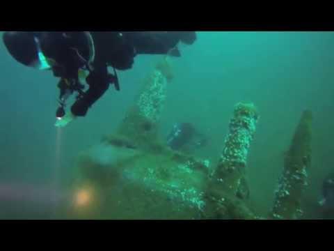 Mergulho no U-1277, Le�a da Palmeira, Portugal