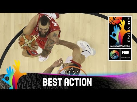 Iran v Serbia - Best Action - 2014 FIBA Basketball World Cup