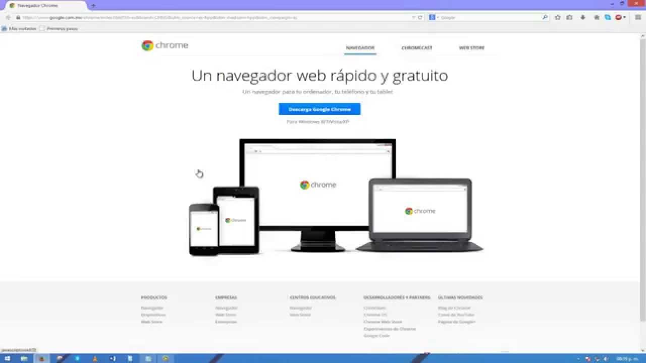 Navegador web Chrome - google.com