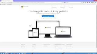 Como Descargar Google Chrome para Windows 7/8