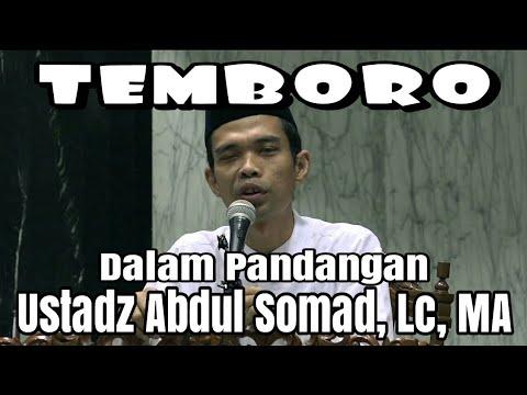 Temboro dalam Pandangan Ustadz Abdul Somad, Lc. MA
