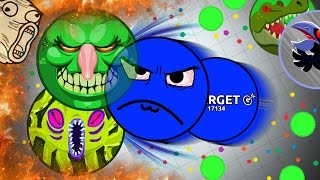 Agar.io - EPIC SOLO GAMEPLAY // AGARIO SOLO VS TEAM (Destroying Teams Solo in Agar.io)
