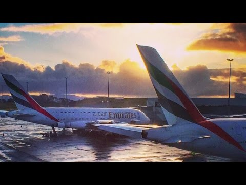 Emirates First Class - Flying Over The Tasman Sea | Flight Report [HD]