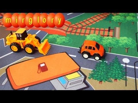 Машинки игрушки для детей коврик с машинками mirglory