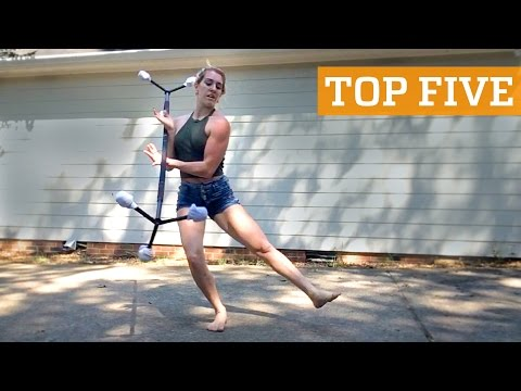 TOP FIVE: Flatland BMX, Sandboarding & River Wakeboarding | PEOPLE ARE AWESOME 2016