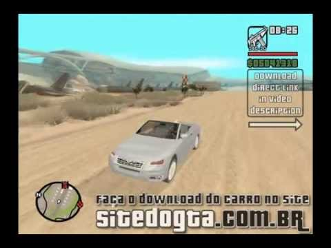 Carro Chrysler Cabrio para GTA San Andreas Video