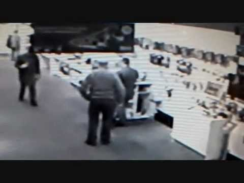 MAN THROWS POO IN SHOP