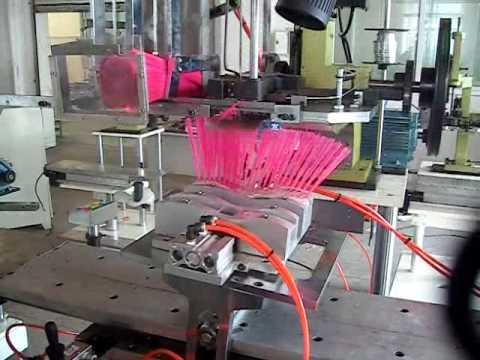Maquinas para fabricar trapeadores