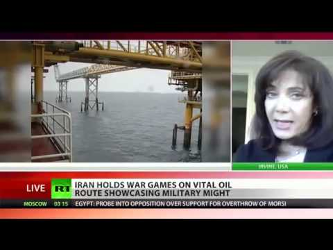 IRAN holds WAR games on vital OIL route of Strait of Hormuz   Showcasing MILITARY MIGHT