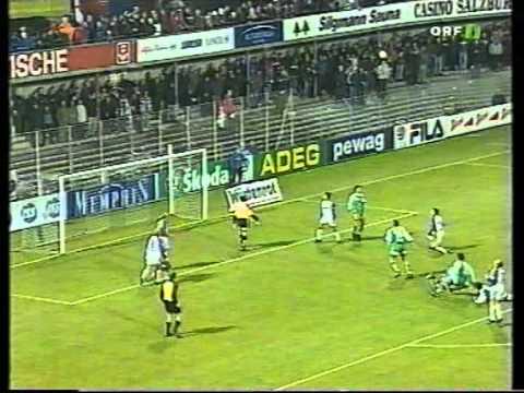 Salzburg - Rapid Wien 25. Runde 2000/2001