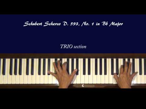 Шуберт Франц - Works for piano solo D.593 2 scherzos B-dur, Dflat
