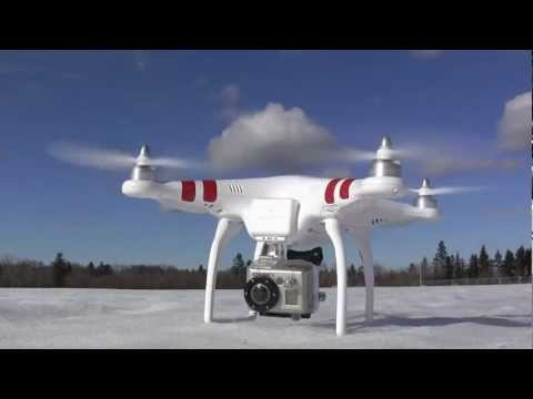 Review: DJI Phantom quadcopter