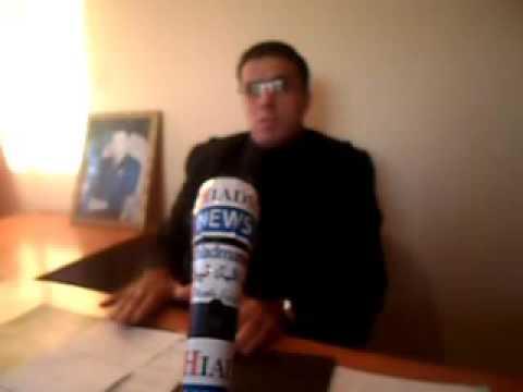 مصطفى ابلينكا يتحدث لميكرفون الشياظمة نيوز عن مشكل الوكالة الحضرية