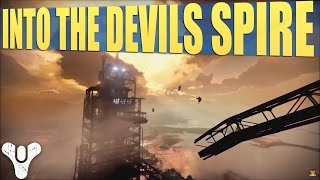Destiny - Break into the Devils Spire - Plus New Ghost Location (Taken King Mission DLC)