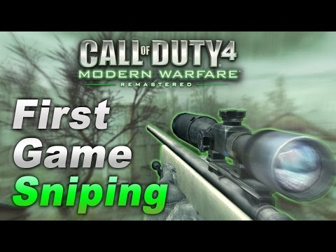 zzirGrizz - My First Game Sniping On Modern Warfare Remastered
