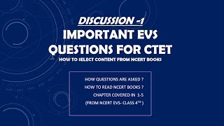 Evs NCERT Chapter wise Summary | Part- 1 | EVS NCERT BOOK SUMMARY FOR CTET/TETs