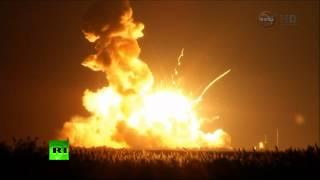 නාසා ආයතනය දියත්කල චන්ද්රිකාවක් පුපුරායන වීඩියෝවක් අන්තර්ජාලයට නිකුත්වෙයි..!! Unmanned Antares rock