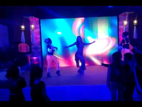 Alina-Yasmin with medley Maar Jawa and belly tabla with dance...