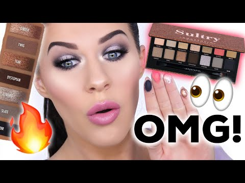 NEW ABH SULTRY PALETTE!!   SWATCHES & REVIEW - IS IT WORTH THE HYPE??!!