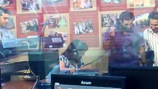 أذينة العلي في استوديو صوت الشباب 2010 Ozaina Al Ali in Soot Al Shabab