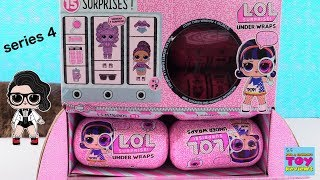 LOL Surprise Under Wraps Series 4 Unboxing Doll Toy Review | PSToyReviews