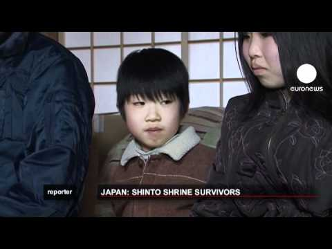euronews reporter - Japan: Shinto Shrine survivors