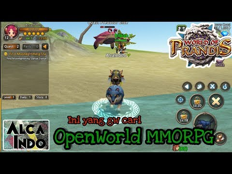 World Of Prandis | Ini Baru MMORPG OPEN WORLD (Indonesia) [Android/Ios]