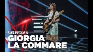 "Giorgia La Commare ""No Roots"" - Blind Auditions #1 - TVOI 2019"
