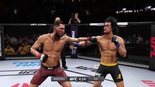 Jorge Masvidal vs. Bruce Lee (EA Sports UFC 3)