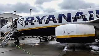 TRIP REPORT | Ryanair (Business Plus) | Boeing 737-800 | London Stansted - Glasgow