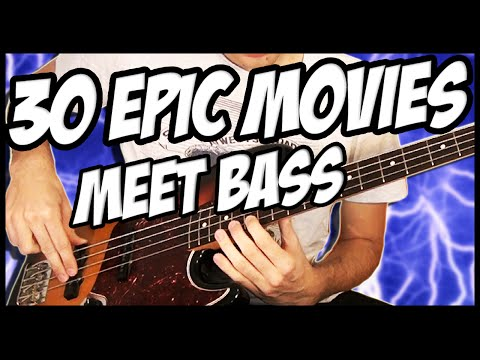 30 Epic Movies Meet Bass video