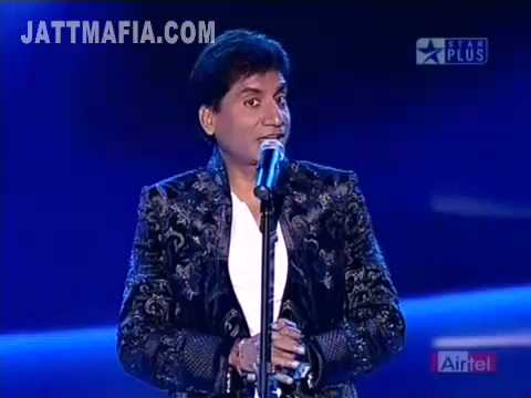 SUPERSTARS KA JALWA RAJU SHRIVASTAV  PERFORMANCE 28 MARCH 2010 PART 7 HQ STAR PLUS CINTAA