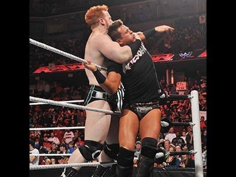 0 Raw   Raw: Sheamus vs. The Miz