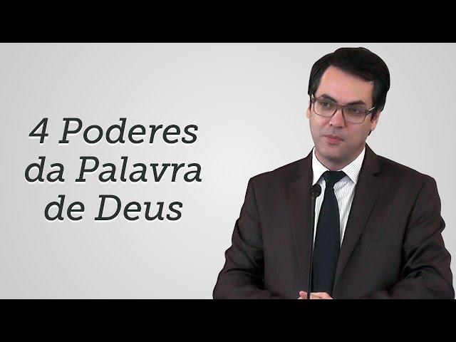 [Trecho] 4 Poderes da Palavra de Deus - Leandro Lima