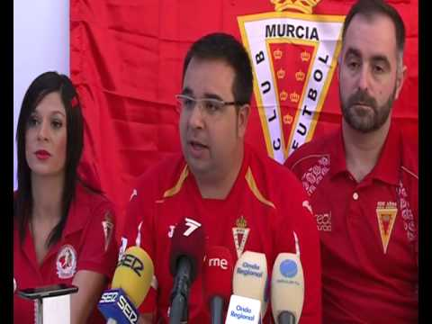 Presidente Federación Peñas Murcianistas anuncia movilizaciones (04-08-14)