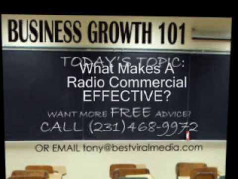 How To Make An Effective Radio Commercial video