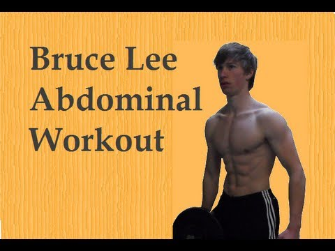 Bruce Lee Personal Abdominal Workout: Remake in HD! Image 1