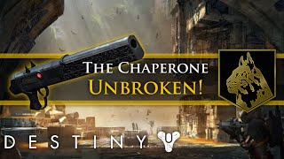 Destiny - The Chaperone Exotic shotgun! Mark of the Unbroken (Flawless)