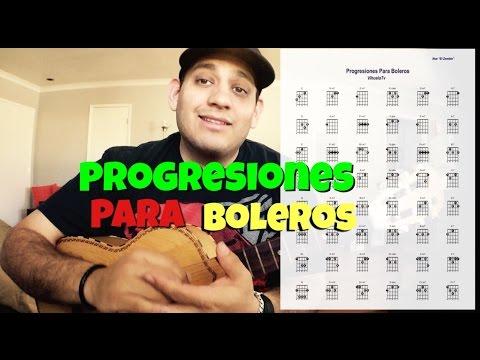 Como Tocar - Progresiones Para Boleros (( Con PDF Para Descargar ))