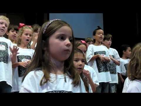 St. Andrew's Presbyterian Church Houston VBS Sunday Music Presentation