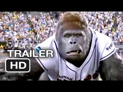 Mr. Go 3D Official International Trailer (2013) - Korean Baseball Gorilla Movie HD