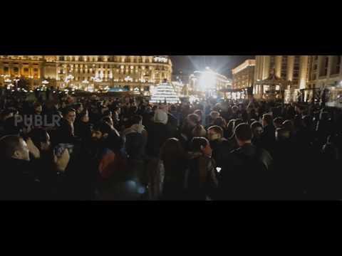 Кавказцы провоцируют на митинге Навального/Вечер на Манежной площади (07.10.17)