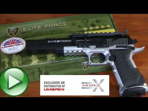 REVIEW: Umarex Race Gun Elite Force 6mm CO2 - Air Soft