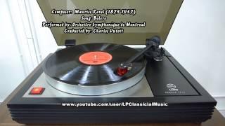 Lp Records Bolero Maurice Ravel Orchestre Symphonique De Montreal Charles Dutoit