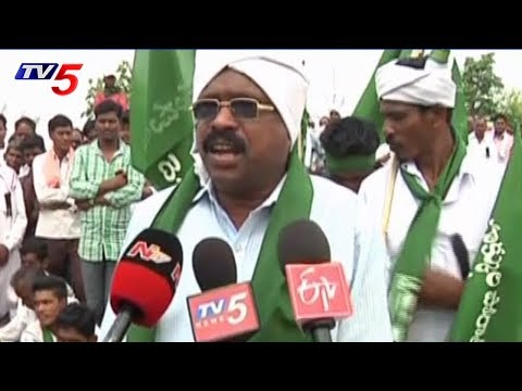 Adivasis Protest Against Lambadas in Adilabad | TV5 News
